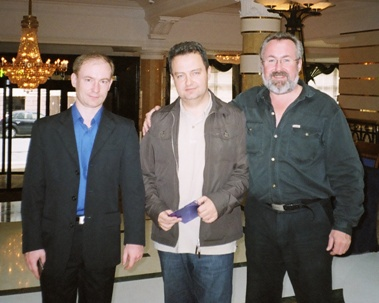 Сергей Малинкович, Ивица Дачич, Александр Потехин (СР)