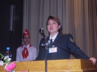 Член Обкома КП Вероника Клиновицкая