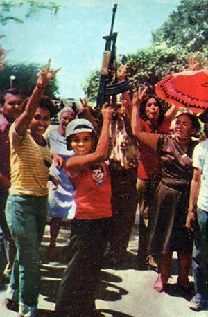 Участники сандинистской революции