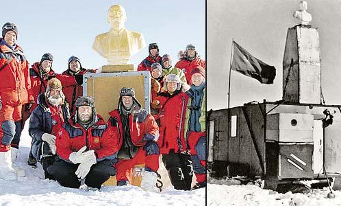 Великий Ленин выжил в Антарктиде