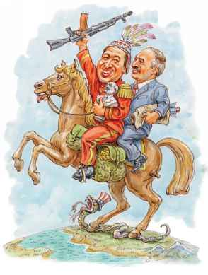 Уго Чавес и батька Лукашенко