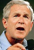 Буш в шоке