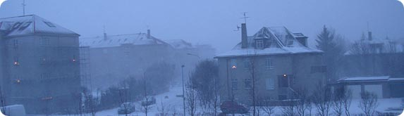 Маленькая снежная Исландия