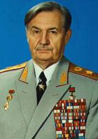 Участник Парада Победы В.И. Варенников