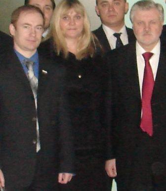 Сергей Миронов с членами КП