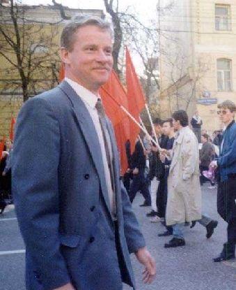 Председатель ЦК СКМ Константин Жуков