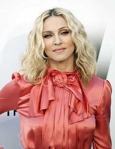 Мадонна розовеет