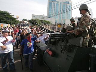Народ Гондураса поднялся на борьбу с хунтой!