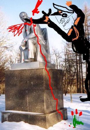 Реконструкция теракта, проведенная ЦК КПЛО