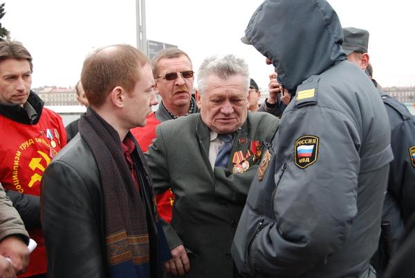 Неотроцкисты напустили на заслуженного коммуниста милицию