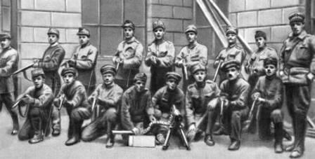 Бойцы Венгерской красной армии