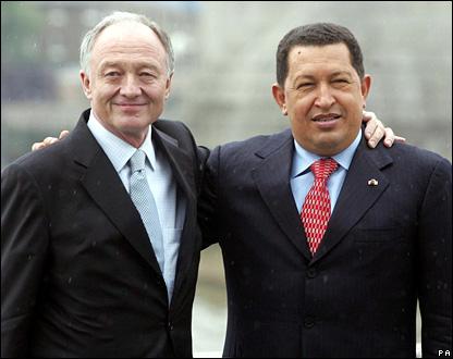 Красный Кен и Уго Чавес