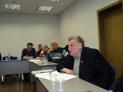 Выступает представитель КПЛО М.Машковцев