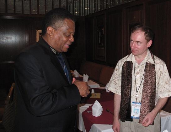 С Председателем Национальной ассамблеи ЮАР М.Сисулу