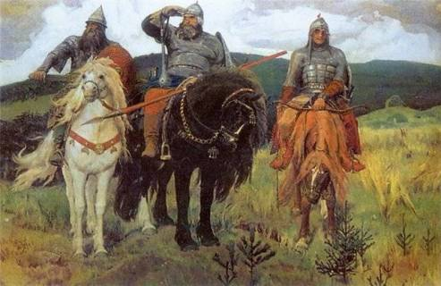 Настоящие богатыри, спасители России-матушки