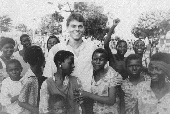 Советский военный специалист в Анголе. 1970-е гг