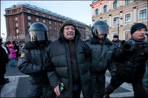 Задержание историка лурье. Фото Балтинфо