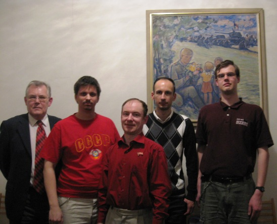 С коммунистами и комсомольцами Чехии