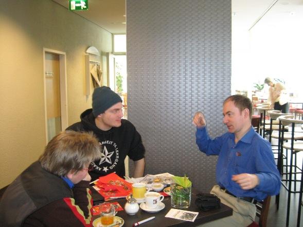 Встреча с товарищами из FDJ