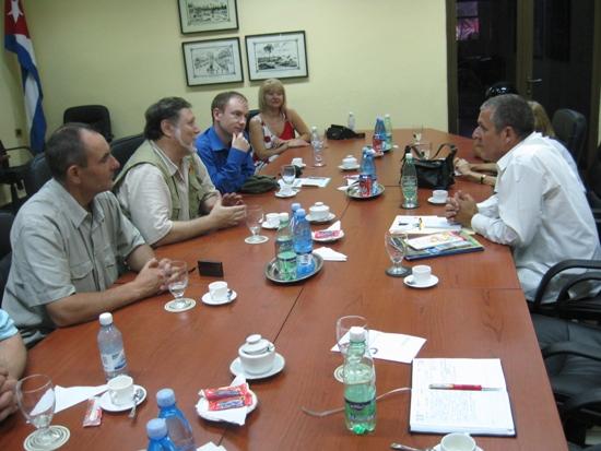 Встреча в МИД Кубы