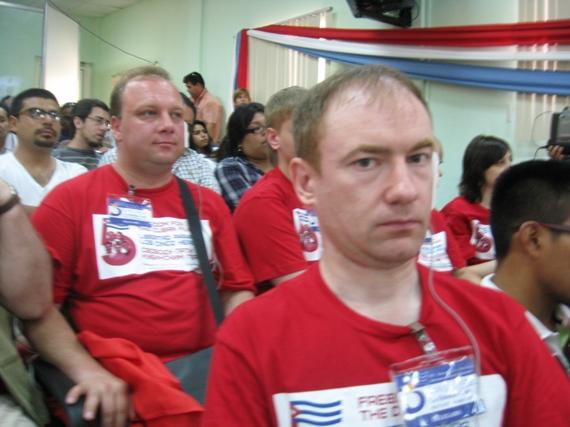 Делегаты Петербурга на конгрессе