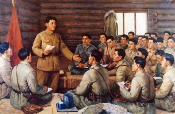 Товарищ Ким Ир Сен в молодые годы