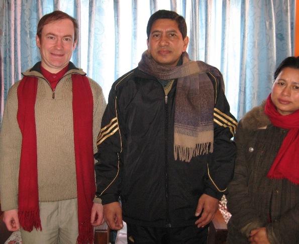 С вице-председателем ОКПН(М) министром иностранных дел Непала тов.Шрестха