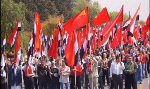 Сирийские коммунисты-главные патриоты страны