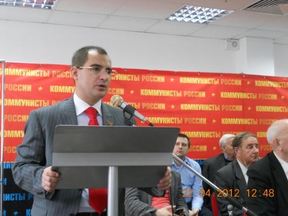 Председатель ЦК КР М.А.Сурайкин