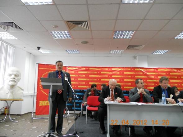 Член ЦК партии от Ленобласти депутат Перов