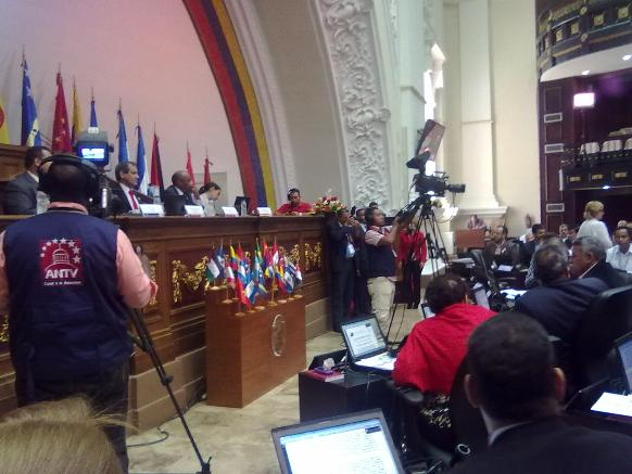 Собрание руководителей делегаций в парламенте Венесуэлы