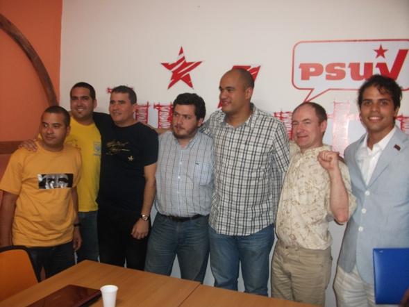 С министром тов.Родригесом, Комсомольцами Кубы и молодыми социалистами Чили