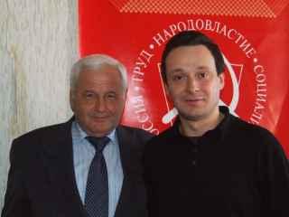 Член ЦК КП Д.Лебедев и № 2 в федеральном списке КПРФ Н. Кондратенко