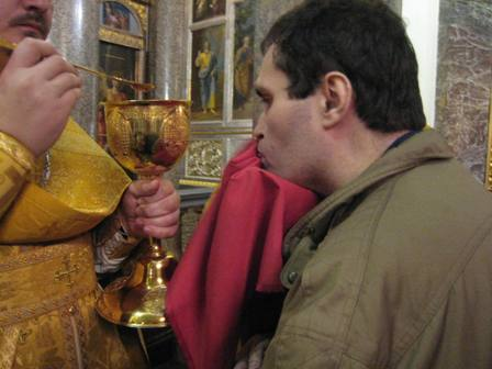 Сергей Пальчиков выбрал веру