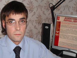 Лидер новгородских коммунистов Сергей Тертичный